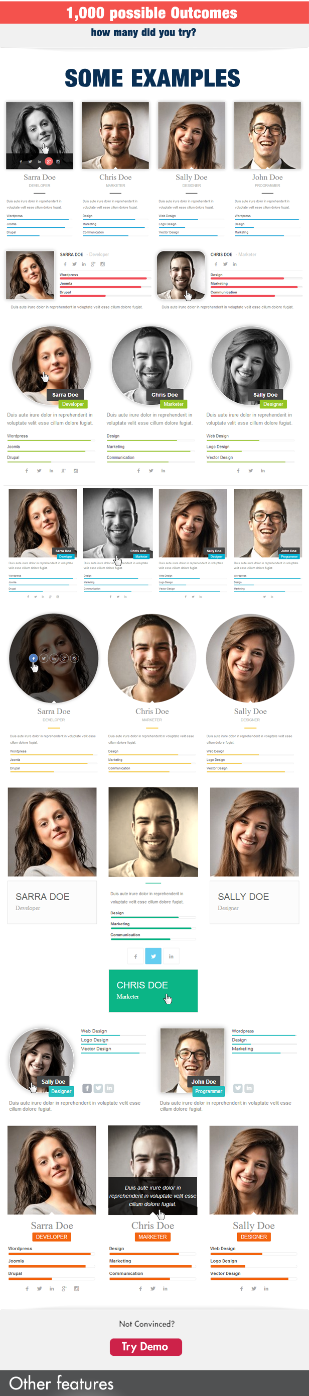 Team Showcase for Visual Composer WordPress Plugin - 4